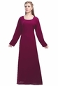 Daily Wear Full Length Maxi Dress For Ladies