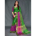 Lush Green Silk Sarees