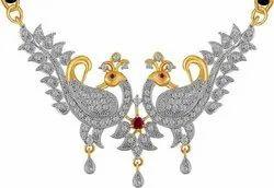 Designer Silver Mangalsutra