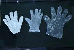 MARUTI Transparent Disposable Gloves, Size: Large, Model Number: 01