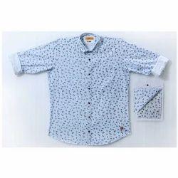 Cotton Mens Designer Printed Shirt