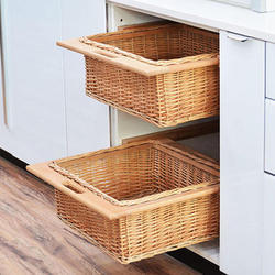 Wooden Kitchen Basket Installation Service