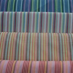 Linen Stripe N Check Fabric