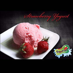 Strawberry Ice Cream, Packaging Type: Bowl, for Home Purpose