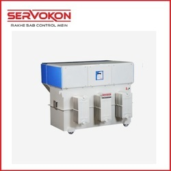 Three Phase Variac Type Servo Stabilizers - Oil Cooled