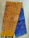 Hand Block Printed Handloom Saree