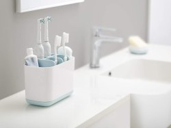 Toiletries Holder Stand Plastic Caddy Organizer