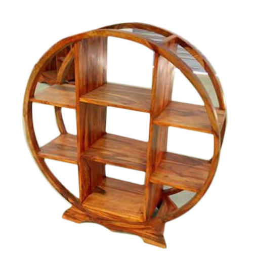new arrival ec2c5 7015a Circle Wooden Bookshelf