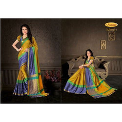Classy Soft Silk Traditional Wear Cotton Saree