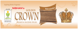 Metallic Golden Incense Sticks
