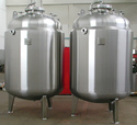 Stainless Steel PW/WFI Storage Tank