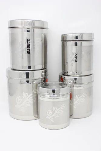 Premium Stainless Steel Kitchen Storage Container Rs 2795 Set