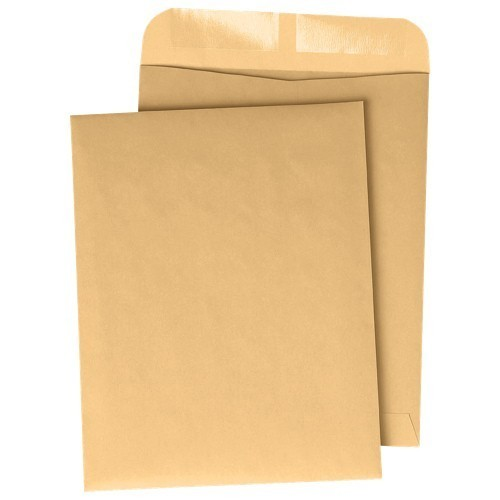 Yellow A4 Envelope