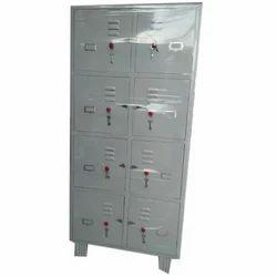 Metal 8 Shelves Locker Almirah, Size: W900xd450xh1850mm, Warranty: 2 Year