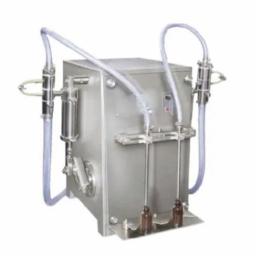 Semi Automatic Volumetric Liquid Filling Machine