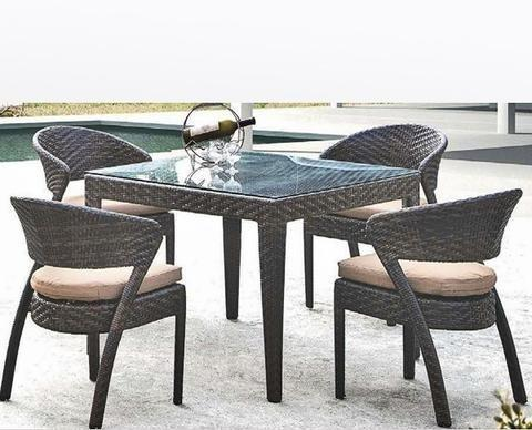 Brown Outdoor Patio Furniture Rs 18000 Set Outdoor Hub Brand Of Designer Furniture Id 4749372397