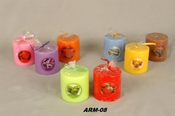 Wax Perfume Pillar Candles