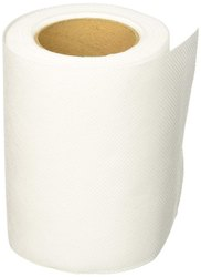 Plain White Toilet Paper Roll