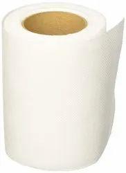 Plain White Toilet Paper Roll
