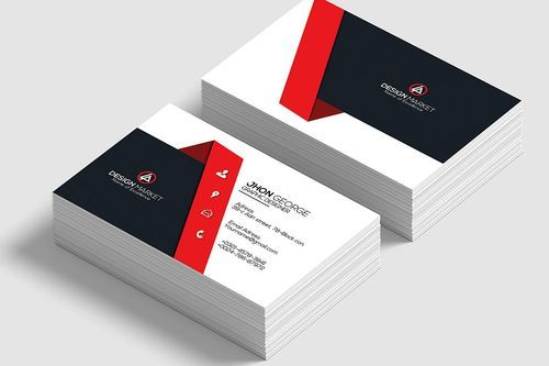 Visiting Card Size 2 5x3 Rs 150 100 Piece Hd Printing Id