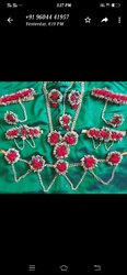 Pink Polans Flower Jewelry
