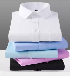 Carlo Cotton Men Office Shirt, Size: L