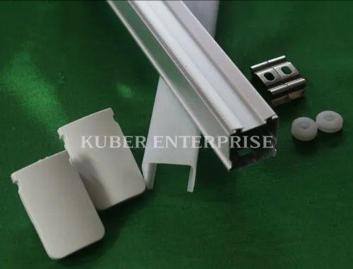 T5 Aluminum Square LED Tube Light Housing (4ft)
