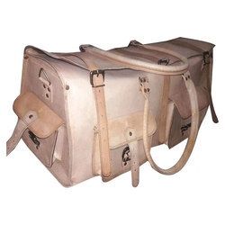 Stylish Leather Luggage Bag