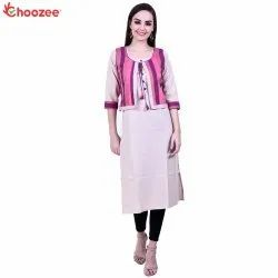 Glory Women Kurta with Jacket