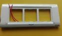 Polycarbonate Rectangular 3 Module Electric Switch Plate
