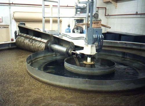 Circular Dissolved Air Flotation Clarifier for Slaughterhouse Effluent