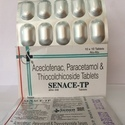 Aceclofenac, Paracetamol And Thiocolchicoside Tablet