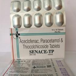 Aceclofenac, Paracetamol And Thiocolchicoside Tablet