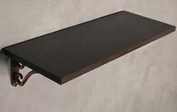 18mm Brown Wood Wenge Deco Home Wall Shelf