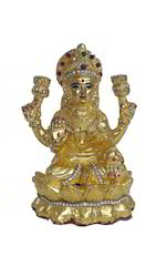 Gold Laxmi Mata Statue