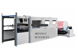 Wooden Roll Die Punching Machine