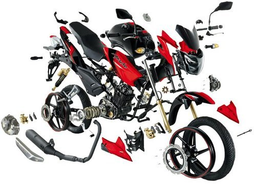 TVS Bikes Spare Part, Bike Components, Bike Parts, Bike Spares ...
