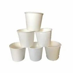 White 100 mL Plain Disposable Cup for Parties, Packet Size: 40 Pieces