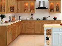 Wood Kitchen Furniture - Manufacturers & Suppliers of Rasoighar Ke ...