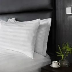 Hotel Strips Satin Pillow cover