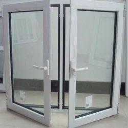 White Aluminium Casement Window