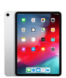 MTJ62HN/A -Apple iPad Pro (2018) 256 GB 12.9 inch with Wi-Fi 4G (Silver)