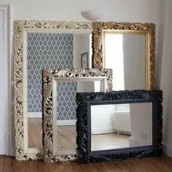 Antique Wall Mirror, Shape: Rectangular