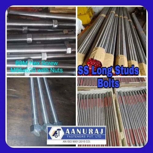 Hex Bolt Long AISI 316 M12 X 190