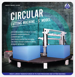 Automatic Circular Foam Cutting Machine