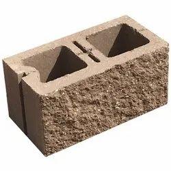 Rectangular Split Face Hollow Block, Size: 400*200*200