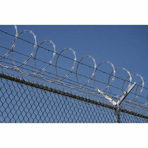 Razor Barbed Wire, Usage: Domestic, Defence, Rs 58 /kilogram | ID ...