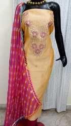 Chanderi Fabric Suit
