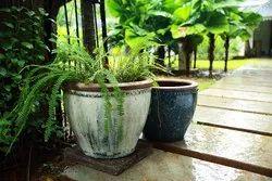 Plain Rustic Pot, for Interior Decor
