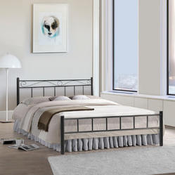 453a5663c008 Furniture Kraft Wrought Iron King Size Bed